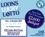 Loons Lucky Lotto Draw (Week 30) - Thursday 5 November