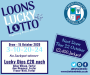 Loons Lucky Lotto - Thursday 15 October 2020