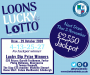 Loons Lucky Lotto Draw (Week 29) - Thursday 29 October