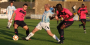 Forfar Lose Out in Close Battle With English Giants