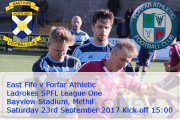 MATCH PREVIEW: East Fife v Forfar Athletic