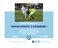 Match Photographs: Forfar Athletic 2 Stranraer 1