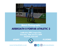 Match Photographs: Arbroath 0 Forfar Athletic 2