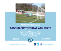 Match Photographs: Brechin City 2 Forfar Athletic 2
