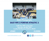 Match Photographs: East Fife 2 Forfar Athletic 3