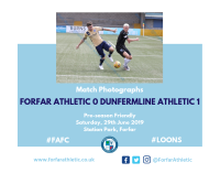 Match Photographs: Forfar Athletic 0 Dunfermline Athletic 1
