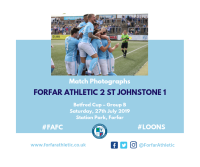 Match Photographs: Forfar Athletic 2 St Johnstone 1