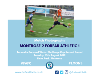 Match Photographs: Montrose 2 Forfar Athletic 1