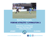 Match Photographs: Forfar Athletic 1 Livingston 2
