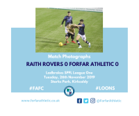 Match Photographs: Raith Rovers 0 Forfar Athletic 0