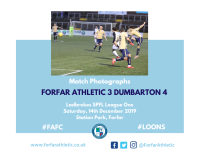 Match Photographs: Forfar Athletic 3 Dumbarton 4