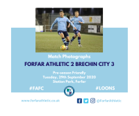 Match Photographs: Forfar Athletic 2 Brechin City 3