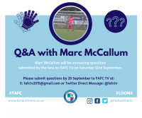 FAFC TV Q&A with Marc McCallum