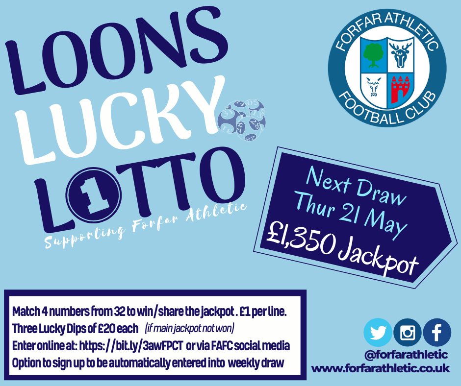 Loons Lucky Lotto Week 1 graphic