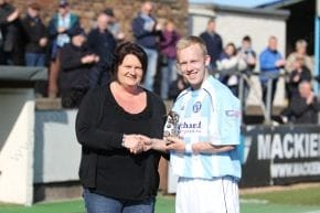 Forfar Athletic Supporters Player of the Year - Nicky Low