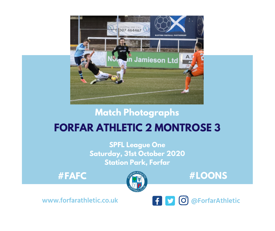 2019 09 21 Forfar Athletic 2 Montrose 0